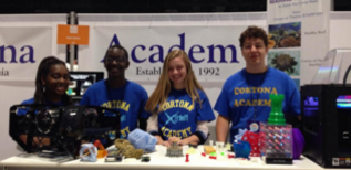 Cortona Students Build Robot to Help Save the Coral Reef