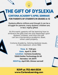Dyslexia Parent Seminar