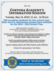Open House May 15