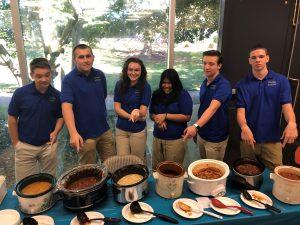 School's Chili Cook-off Event