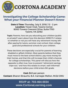Parent Seminar July 5