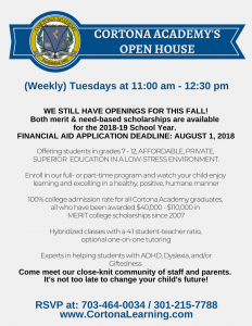 Tuesday Open House