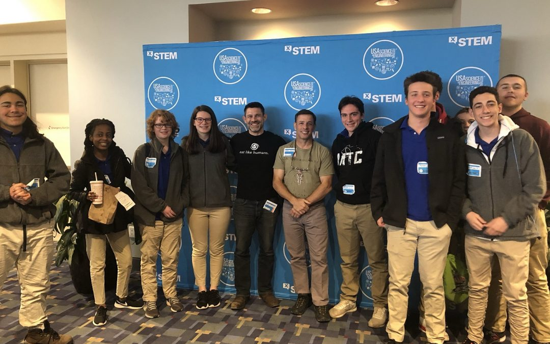 Cortona Academy Shuts Down to Attend X-STEM DC, 2019