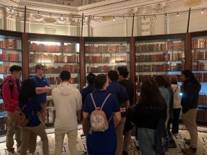 Cortona students' experience at Library of Congress